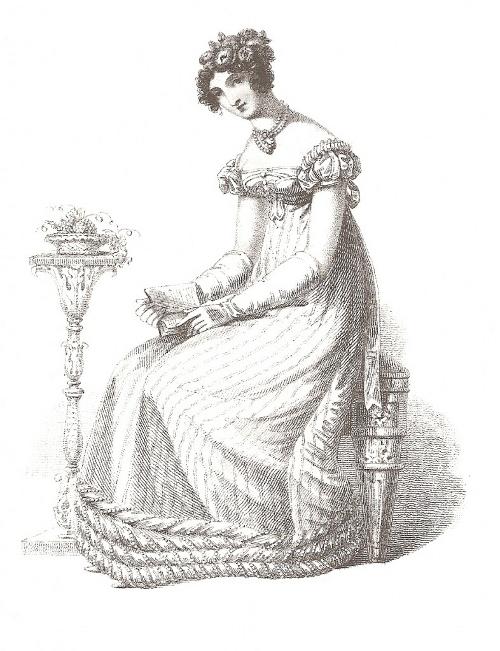 Empire Dress Drawing