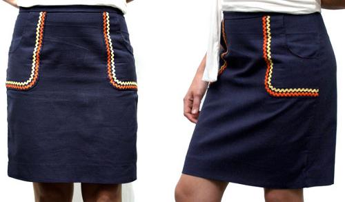 rick rack skirt