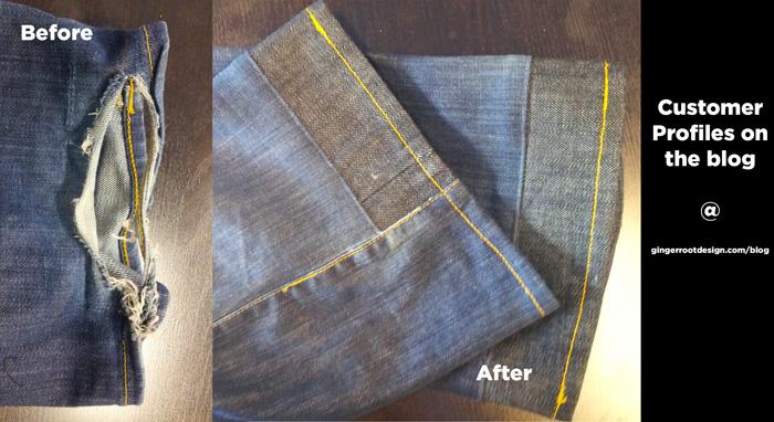 jean repair
