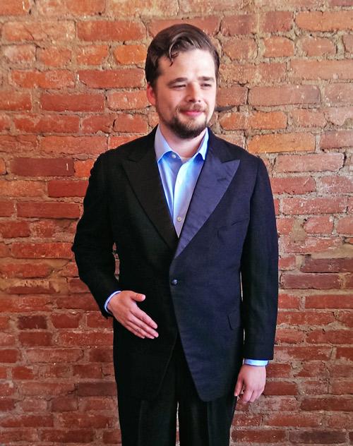 Customer Profile Jon S 1920 S Blazer Ginger Root Design